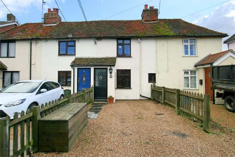 2 Bedrooms Terraced House for sale in Kelvedon Road, Tolleshunt D'arcy, MALDON, Essex
