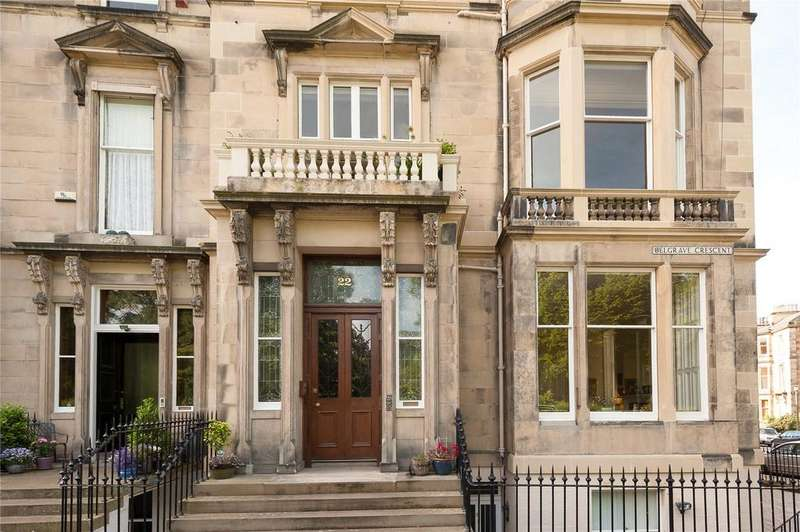 3 Bedrooms Flat for sale in Belgrave Crescent, Edinburgh