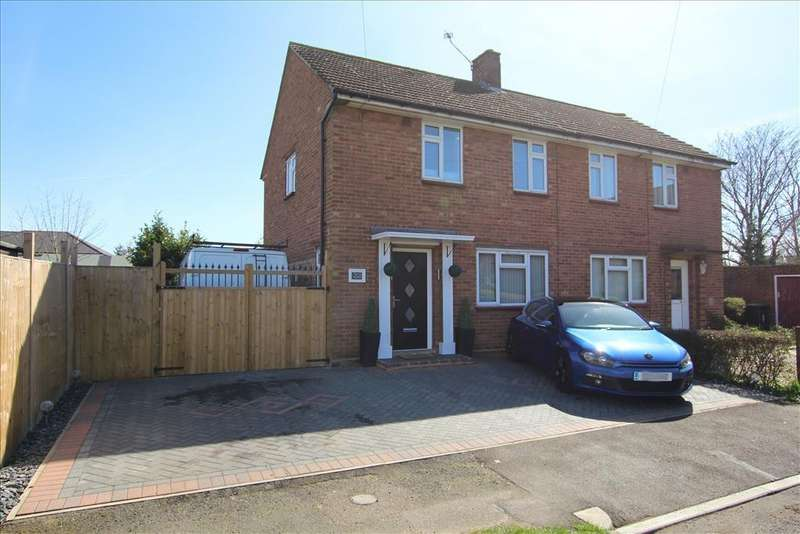 3 Bedrooms Semi Detached House for sale in Mead End, Biggleswade, SG18