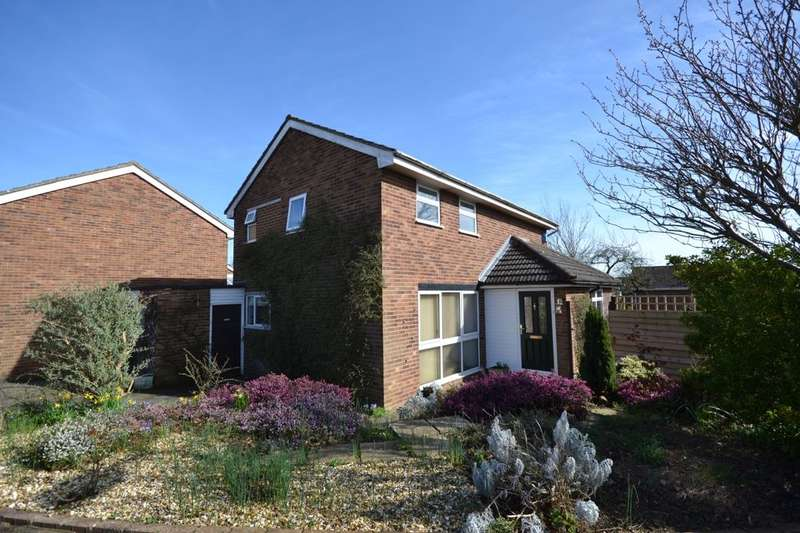 3 Bedrooms Detached House for sale in Harmans Way, Weedon, Northampton, NN7