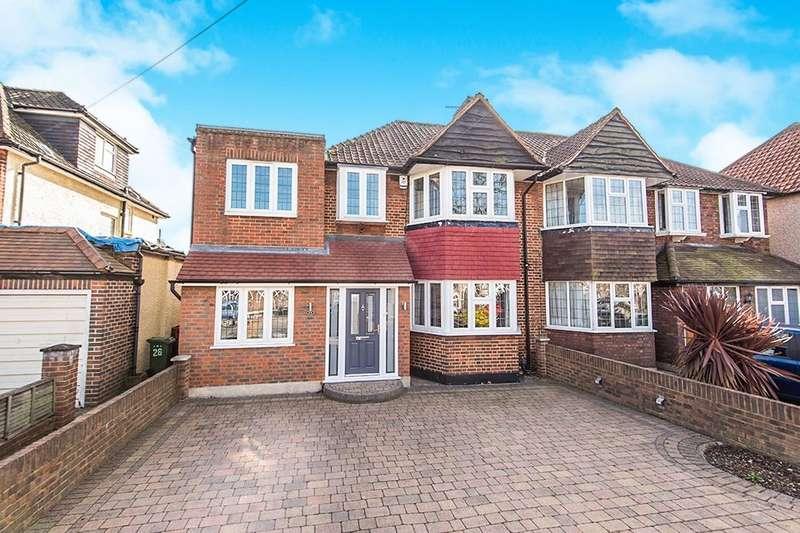 4 Bedrooms Semi Detached House for sale in Bridge Way, Whitton, Twickenham, TW2