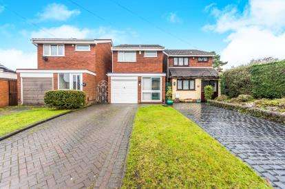 3 Bedrooms Detached House for sale in Lucknow Road, Short Heath, Willenhall, West Midlands