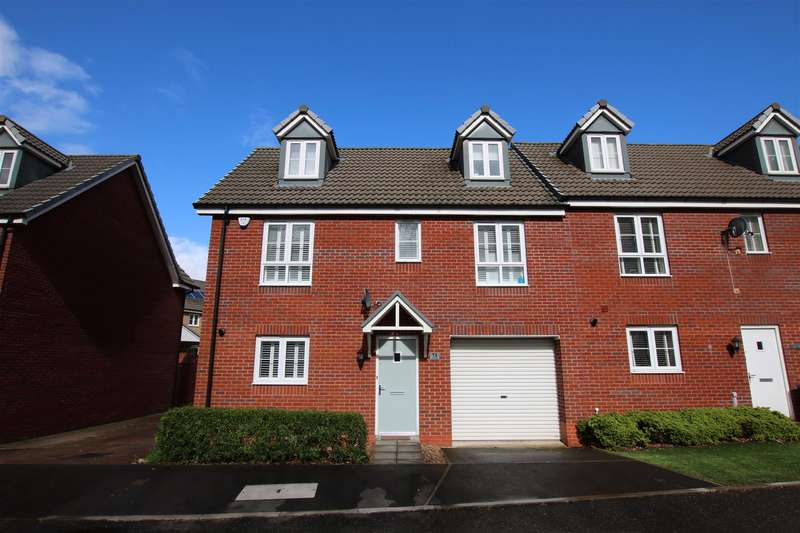 3 Bedrooms Town House for sale in Blakeslee Drive, The Rydons, Exeter