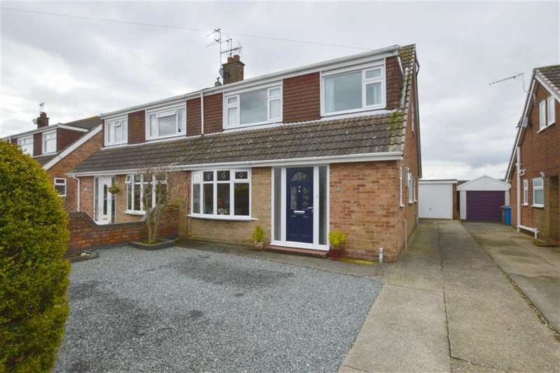 3 Bedrooms Semi Detached House for sale in Cawood Crescent, Skirlaugh, East Yorkshire