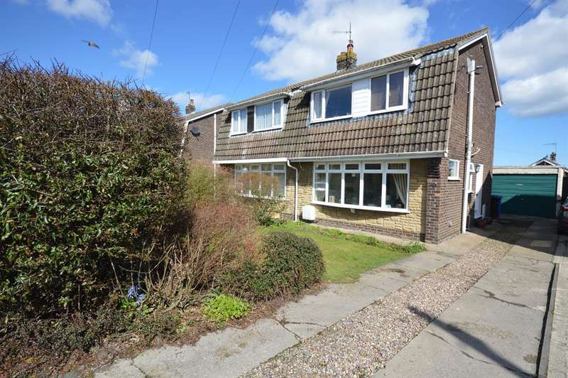 3 Bedrooms Semi Detached House for sale in Outgaits Lane, Hunmanby, Filey , YO14 0PX