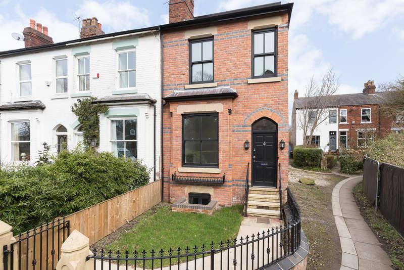4 Bedrooms End Of Terrace House for sale in Moorfield Grove, Heaton Moor