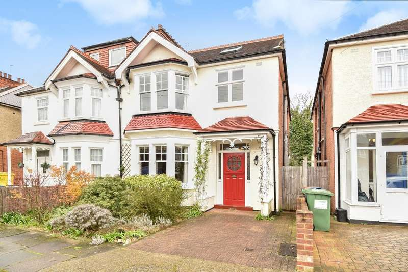 5 Bedrooms Semi Detached House for sale in Radnor Avenue, Harrow, HA1