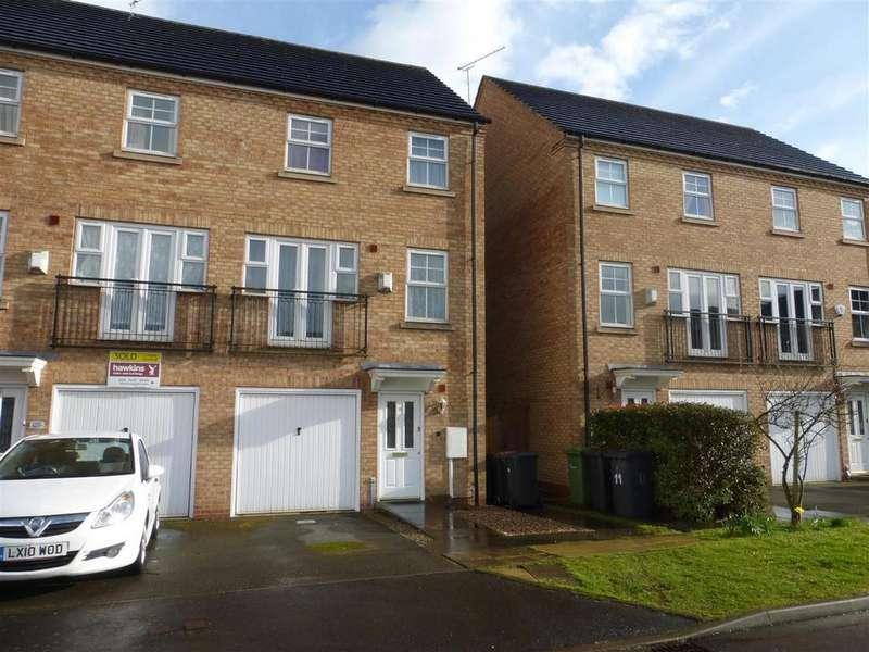 4 Bedrooms Semi Detached House for sale in Silken Court, Nuneaton