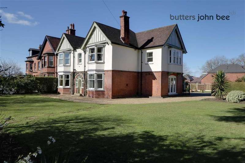 5 Bedrooms Semi Detached House for sale in Oulton Road, Stone, Staffordshire