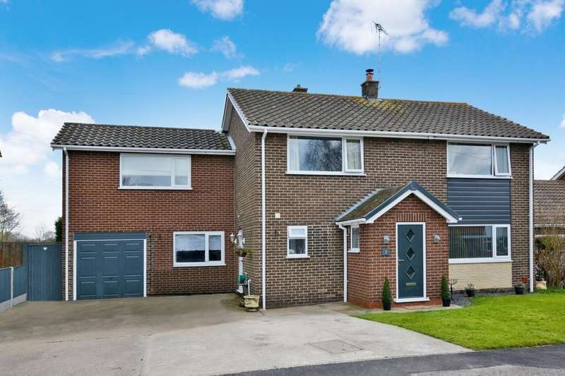 4 Bedrooms Detached House for sale in Nether Court, Farnsfield