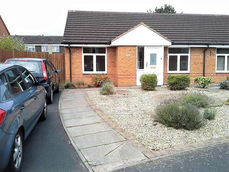2 Bedrooms Semi Detached Bungalow for sale in Wyegate Close, Birmingham