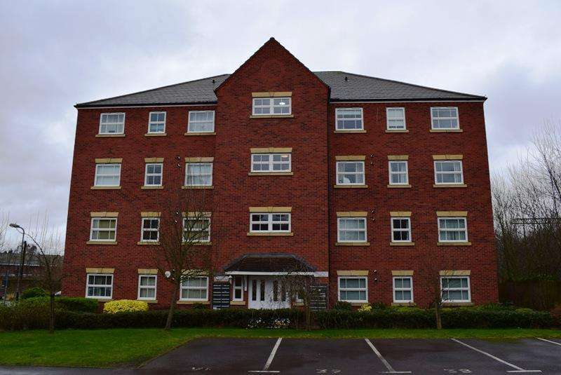 2 Bedrooms Apartment Flat for sale in Clarkson Close, Nuneaton