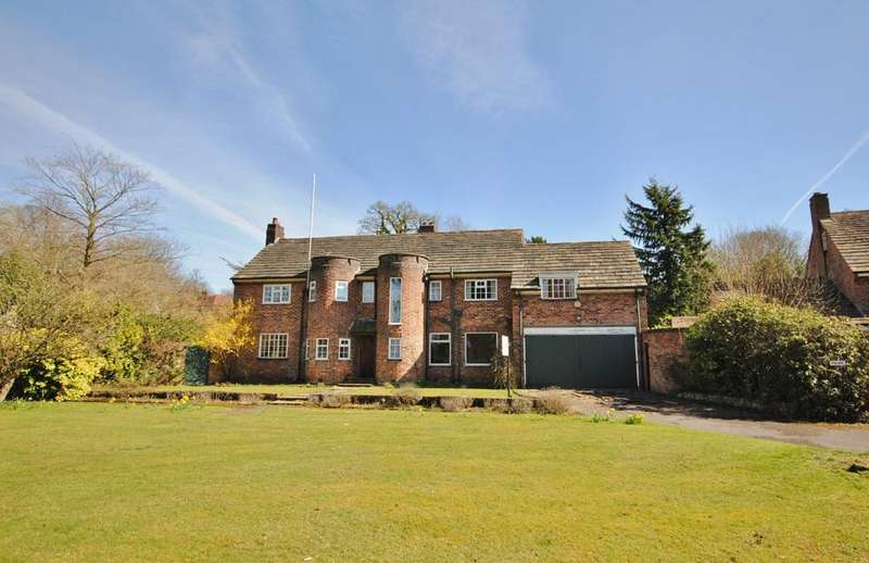 5 Bedrooms Detached House for sale in Off Scott Road, Prestbury