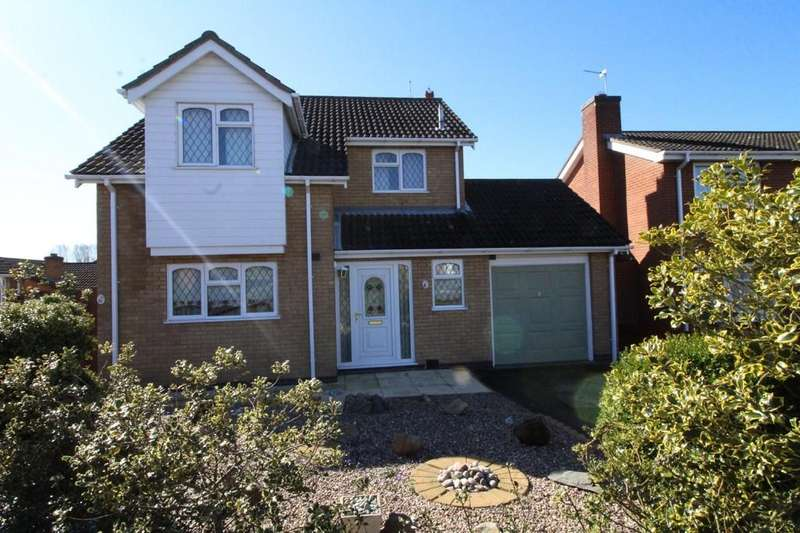 3 Bedrooms Detached House for sale in Archer Close, Loughborough