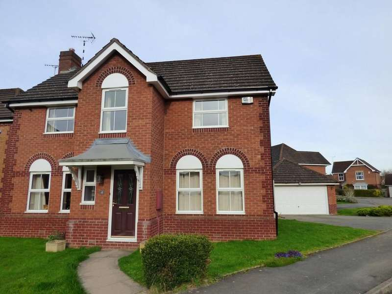 4 Bedrooms Detached House for sale in Wake Grove, Warwick