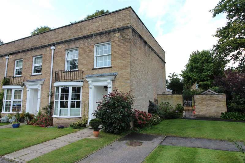 3 Bedrooms End Of Terrace House for sale in Latimers Close, Highcliffe, Christchurch, BH23 5NJ