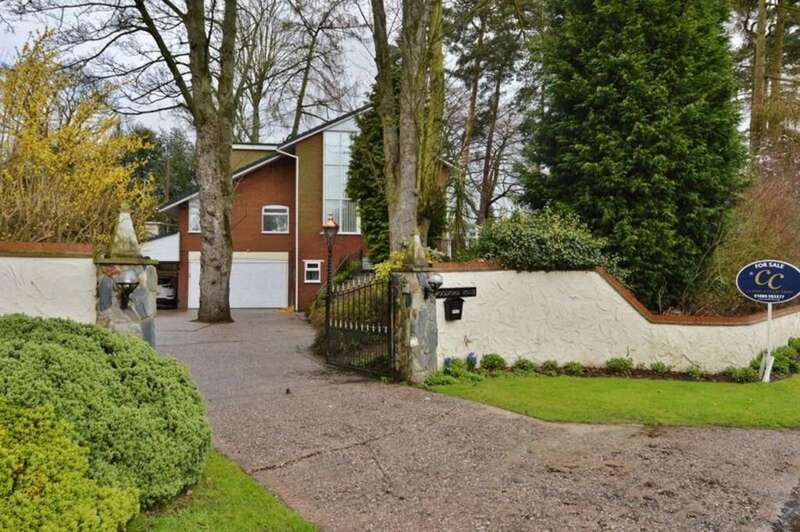 4 Bedrooms Detached House for sale in Woodford House, Slitting Mill