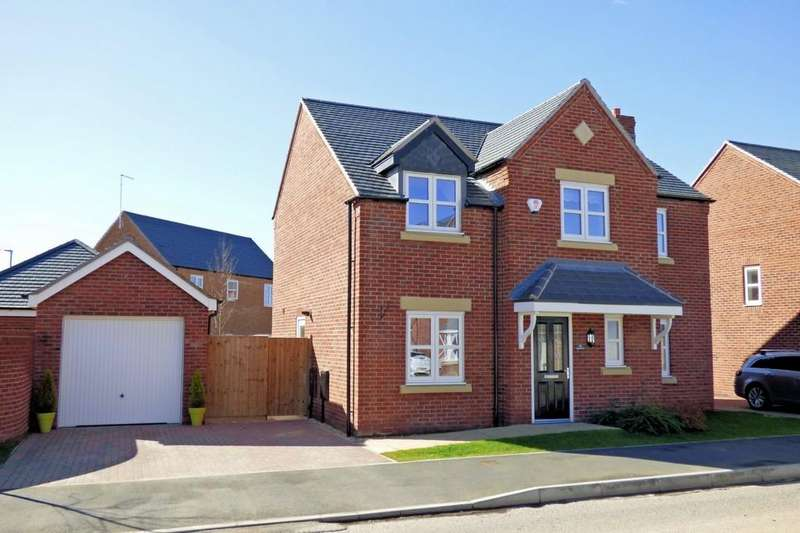 4 Bedrooms Detached House for sale in Cobblestone Drive, Swadlincote
