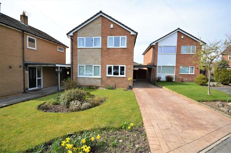3 Bedrooms Detached House for sale in Ayr Close, Hazel Grove