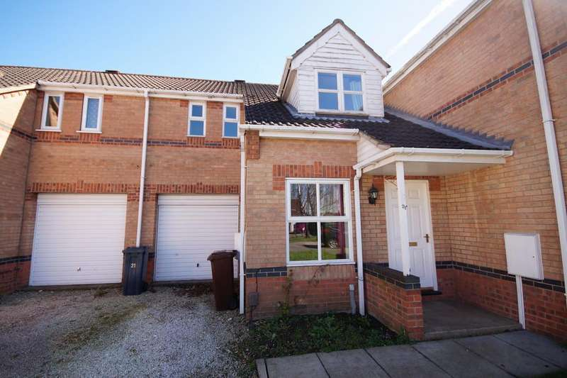3 Bedrooms Town House for sale in Peppercorn Close, Lincoln