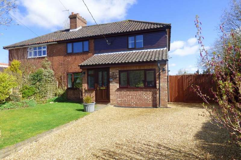 4 Bedrooms Semi Detached House for sale in Church Road, Wacton