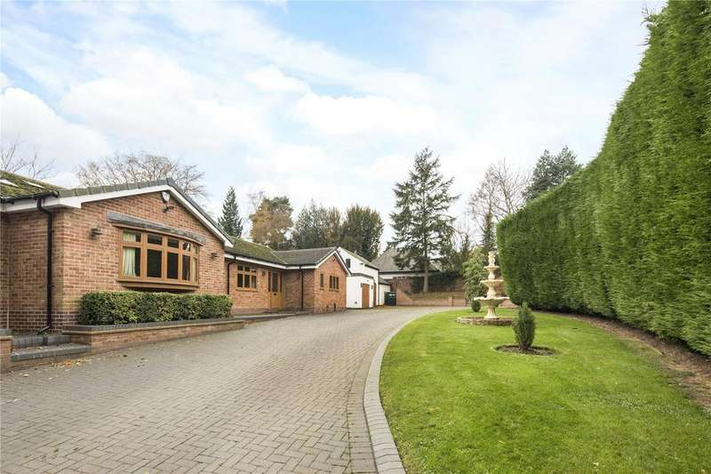 5 Bedrooms Detached Bungalow for rent in Watling Street, Weeford, Lichfield, Staffordshire, WS14