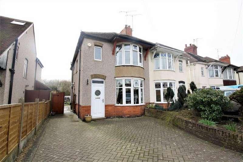 3 Bedrooms Semi Detached House for sale in Kingsbridge Road, Weddington, Nuneaton