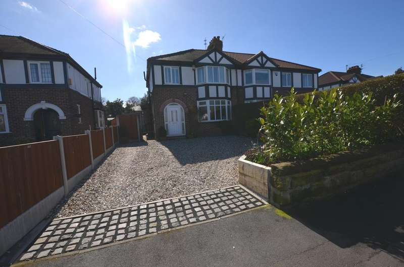 3 Bedrooms Semi Detached House for sale in Thorsby Road, Timperley, Chehire, WA15 7QP