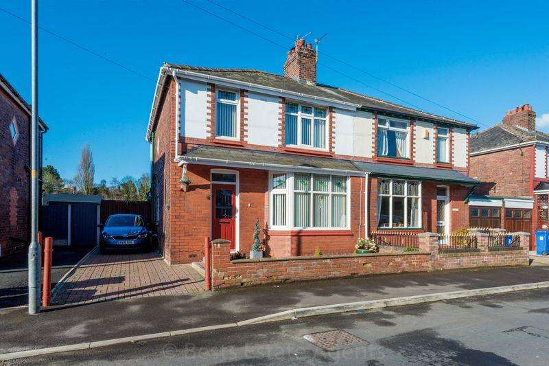 3 Bedrooms Semi Detached House for sale in Oxford Road Higher Runcorn