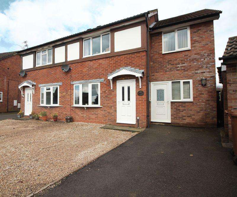 3 Bedrooms Semi Detached House for sale in Summerfield Close, Oswestry