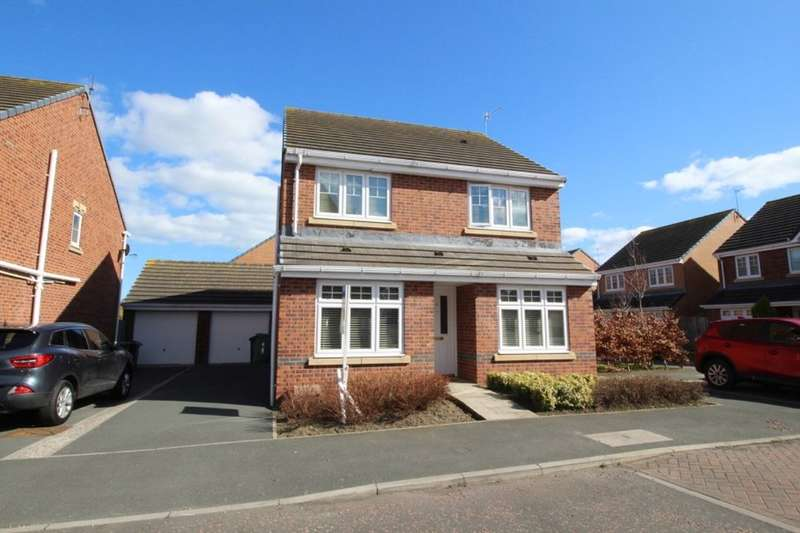 4 Bedrooms Detached House for sale in Woodside Drive, Boldon Colliery, NE35