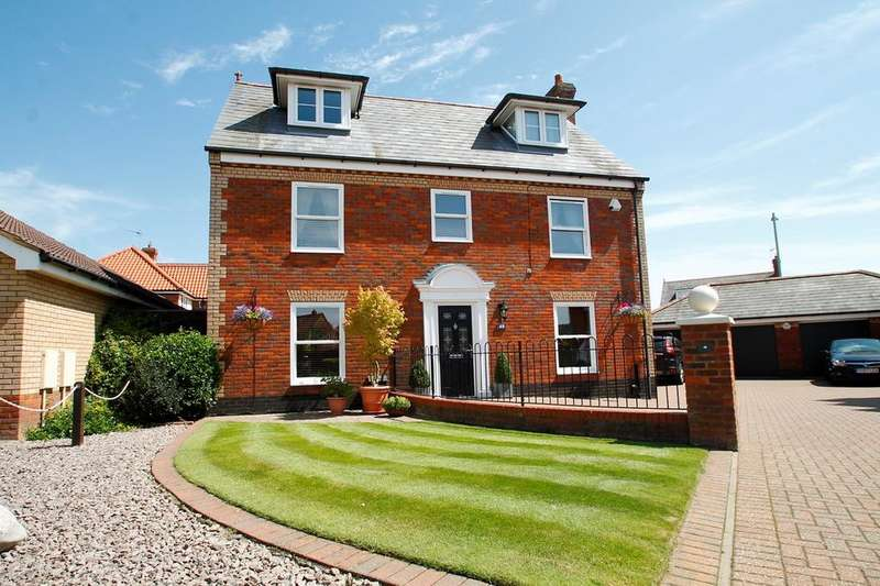 5 Bedrooms Detached House for sale in Larkhill Rise, Rushmere St Andrew, Ipswich, IP4