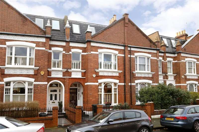 6 Bedrooms Terraced House for sale in Chiddingstone Street, Fulham, London, SW6