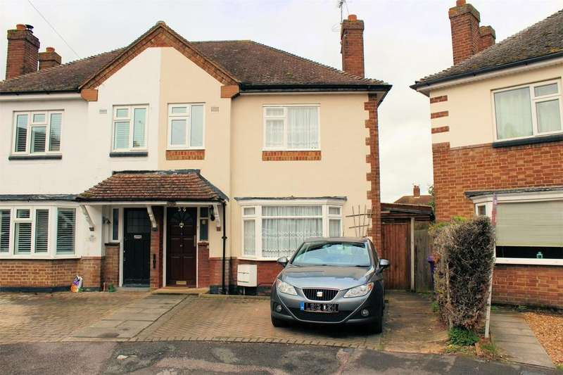 3 Bedrooms Semi Detached House for sale in Wilton Road, HITCHIN, Hertfordshire