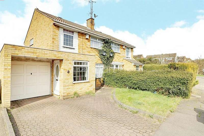 3 Bedrooms Semi Detached House for sale in Liston Close, LU4