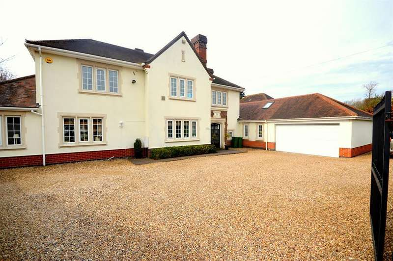 5 Bedrooms Detached House for sale in Desford Road, Narborough, Leicester, LE19 3EN
