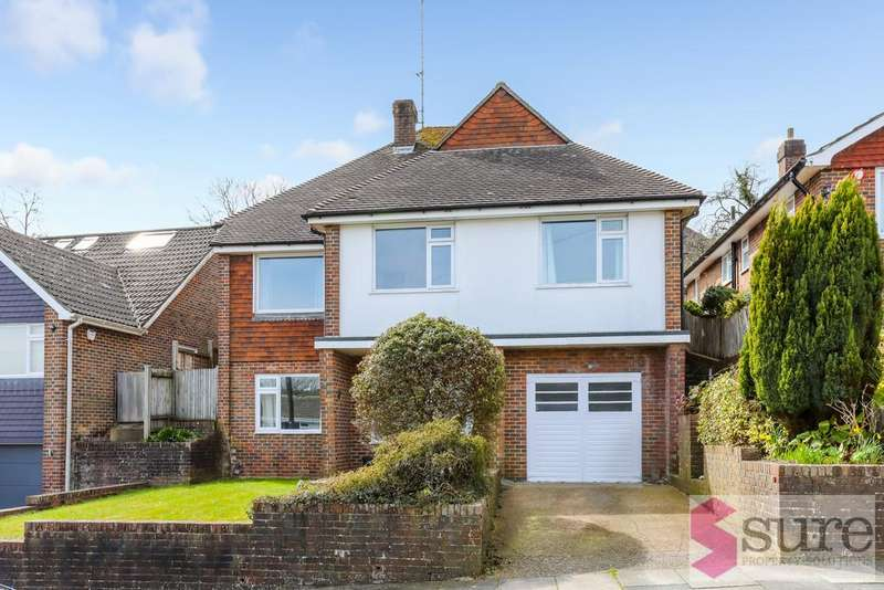 4 Bedrooms Detached House for sale in Hillside Way, Withdean, Brighton