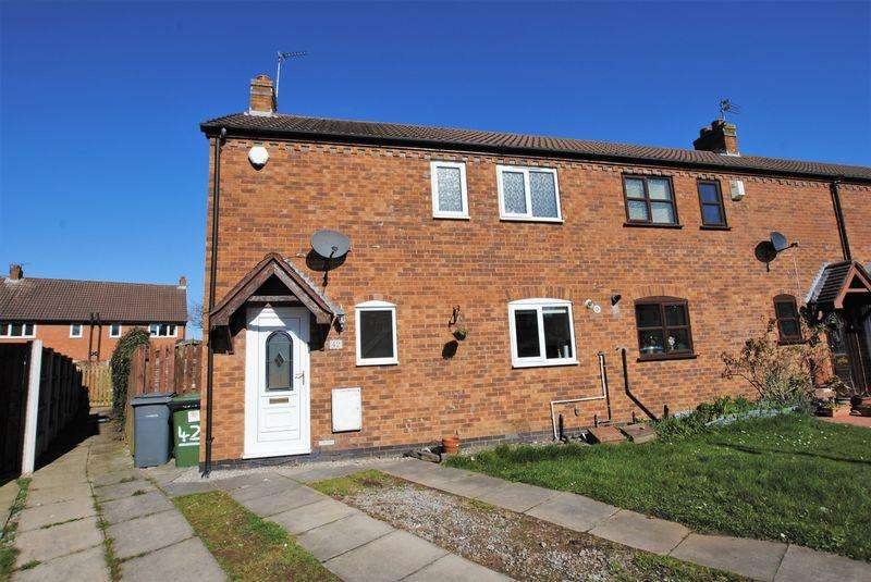 2 Bedrooms Semi Detached House for sale in Millhouse Close, Moreton