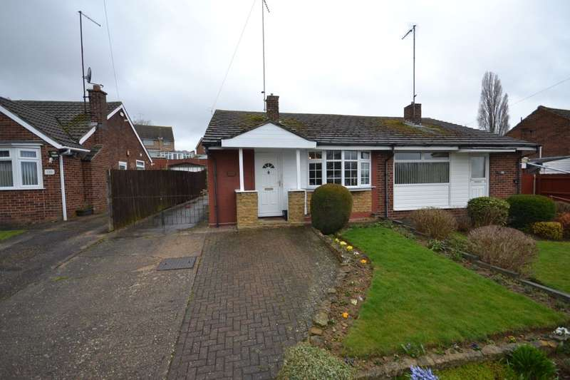 2 Bedrooms Semi Detached Bungalow for sale in Greenview Drive, Links View, Northampton, NN2