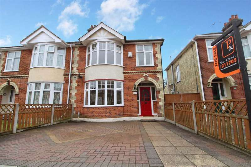 3 Bedrooms Semi Detached House for sale in Elmhurst Drive, Ipswich
