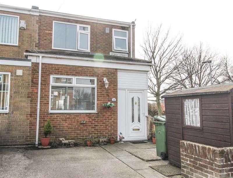 3 Bedrooms Terraced House for sale in Storey Street, Klondyke, Cramlington
