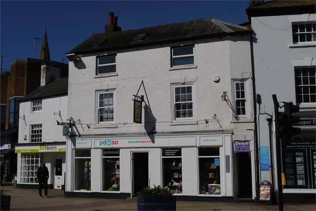1 Bedroom Flat for sale in Flat 8 Premier House, The Square, Market Harborough, Leicestershire