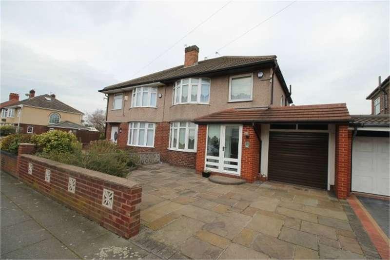 3 Bedrooms Semi Detached House for sale in Edgemoor Drive, Crosby, LIVERPOOL, Merseyside