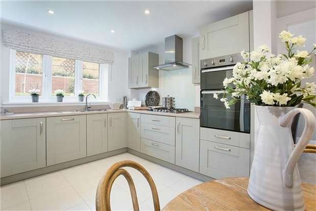 4 Bedrooms Detached House for sale in The Haddon, St Marys, King Fields, Biddenham
