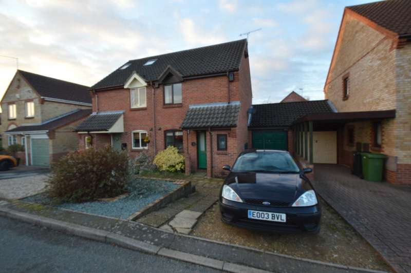 2 Bedrooms Semi Detached House for sale in Meadowvale, New Costessey