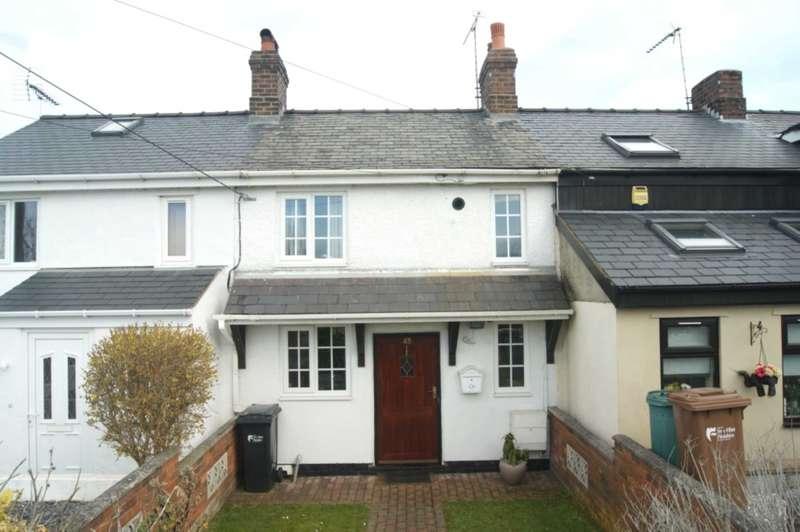 2 Bedrooms Terraced House for sale in Ewloe Place, Buckley, Flintshire, CH7 3NJ