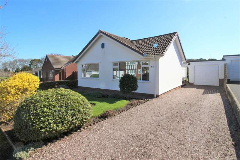 2 Bedrooms Detached Bungalow for sale in Rhodesway, Heswall, Wirral, CH60 2UB