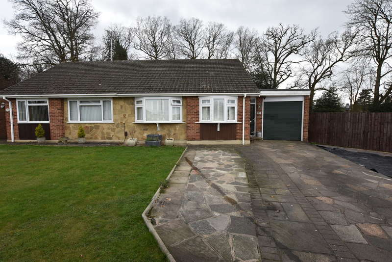 2 Bedrooms Semi Detached Bungalow for sale in The Glebe, Garston , Watford