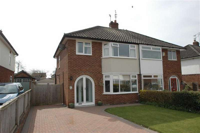 3 Bedrooms Semi Detached House for sale in Lache Hall Crescent, Chester