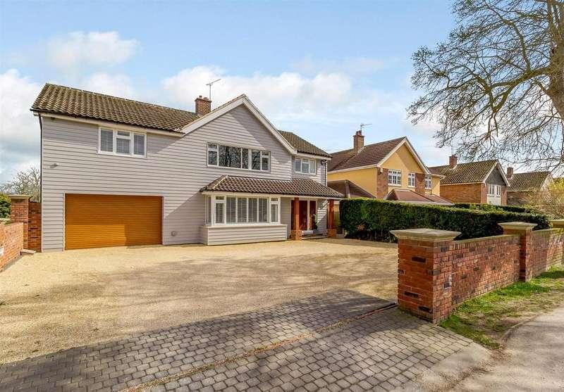 5 Bedrooms Detached House for sale in Church Road, Ramsden Heath, Billericay